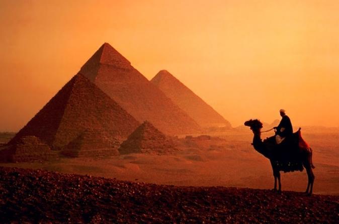 Dos días de viaje a El Cairo en avión