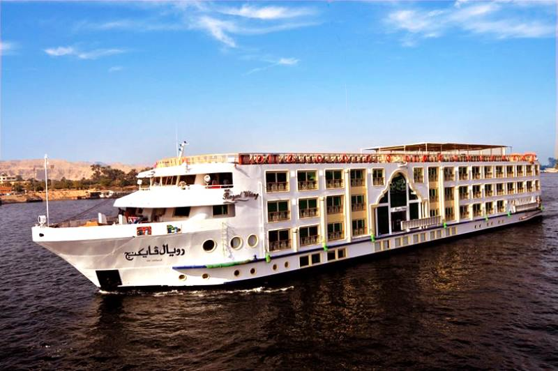 ROYAL VIKING 5 Stars Deluxe Nile Cruise ship