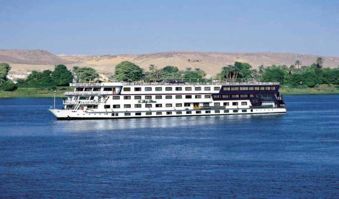 Crucero con Motor Jasmin 5 Stars Barco Crucero Deluxe por el Nilo