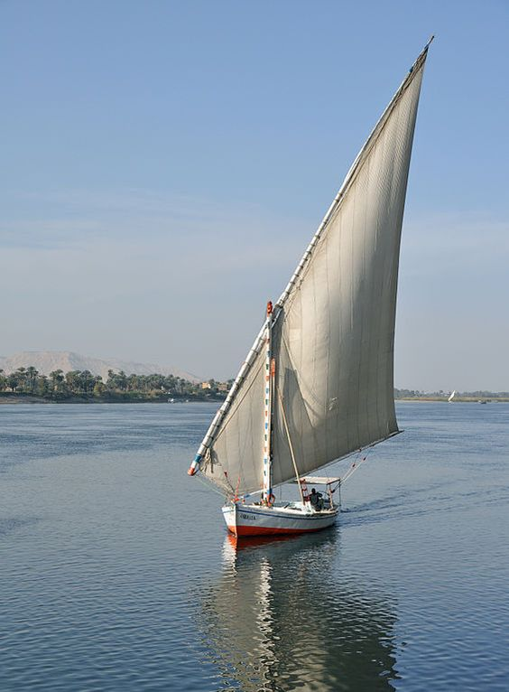 Felucca Sail on the River Nile in Luxor