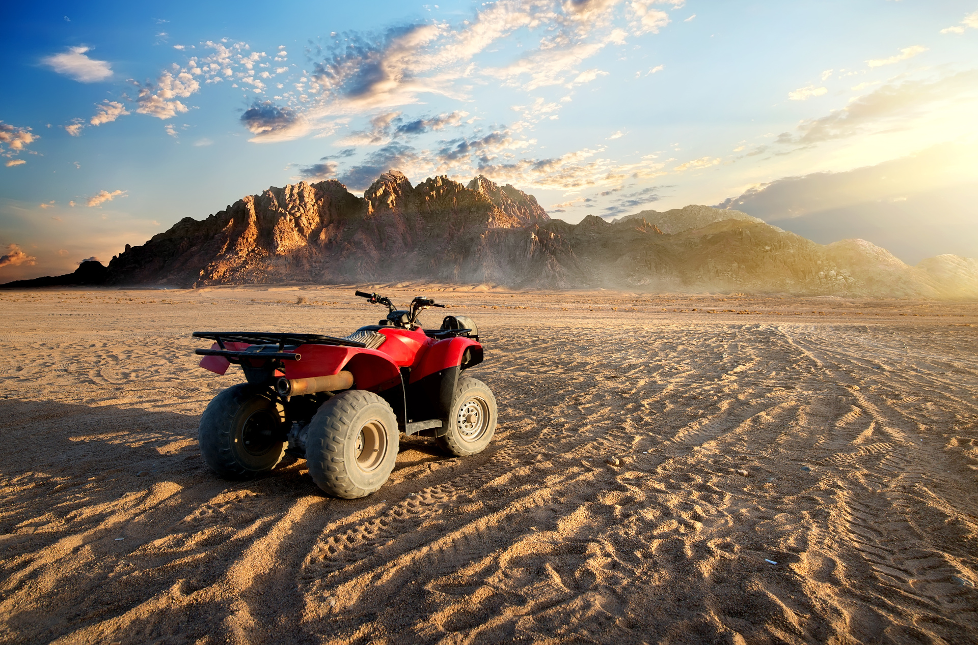 Quad Bike Safari (Sunrise or Sunset)