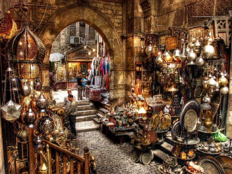 Bazaar-Shopping in Luxor
