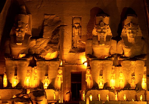 Karnak Sound and Light Show in Luxor