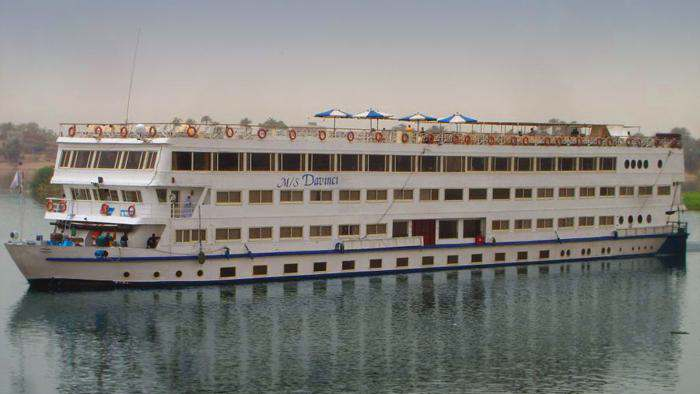 Da Vinci 5 stars Nile Cruise ship