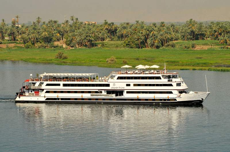 Alexander the Great 5 stars Luxury Nile Cruise Ship