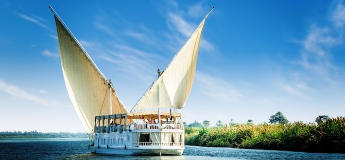 MS Amoura 5 Stars Crociera sul Nilo in Dahabeya