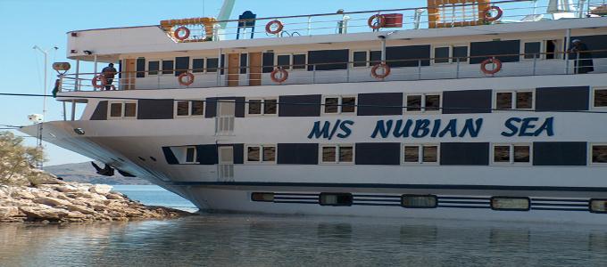 M/S Nubian Sea 5 Stars deluxe Lake Nasser cruise ship