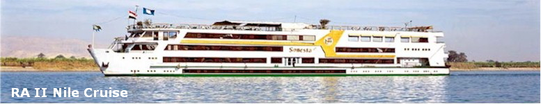 Ra II 5 Stars Nile Cruise ship