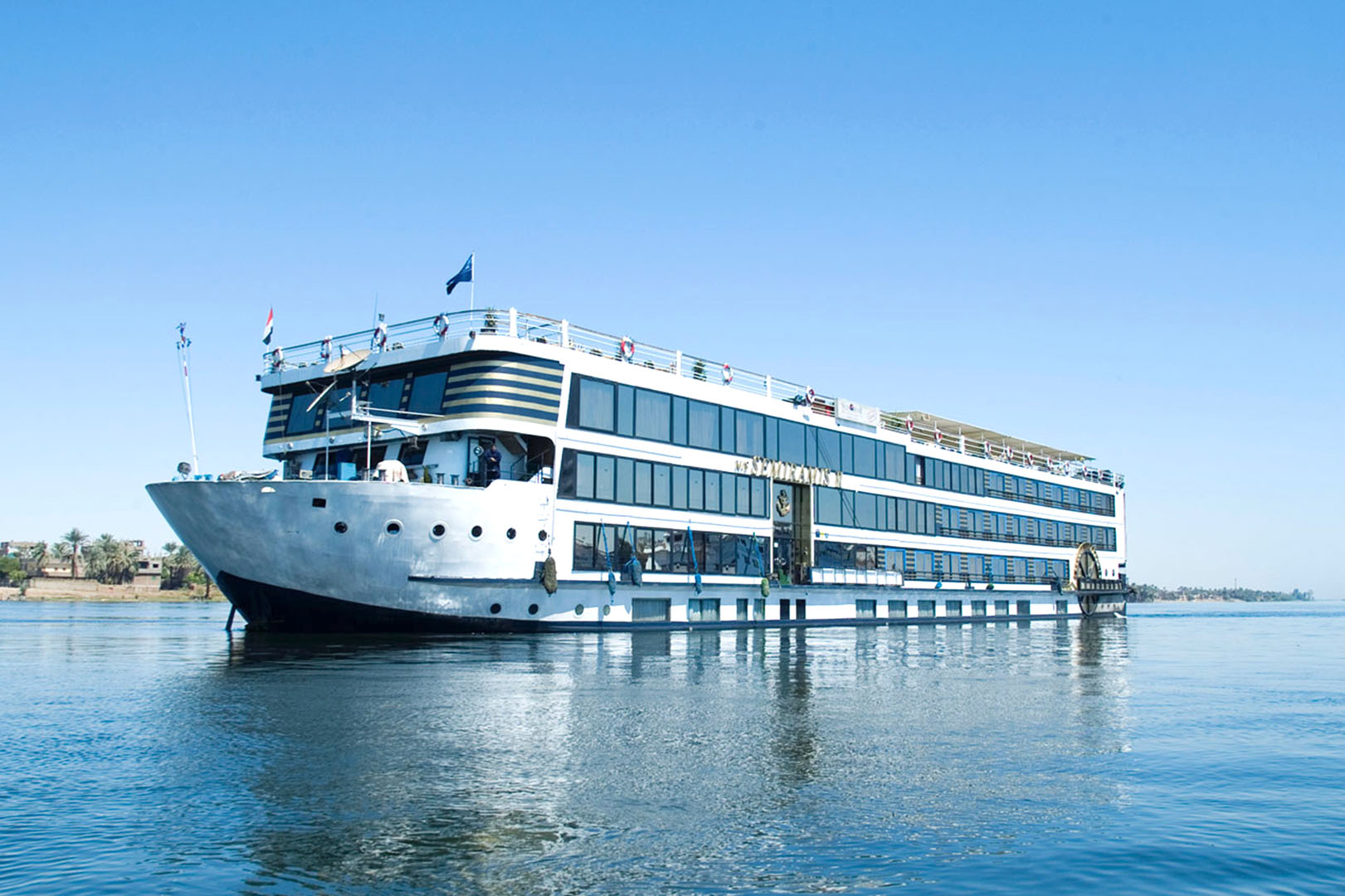Grace Kelly 5 Stars Dahabeya Nile Cruise ship