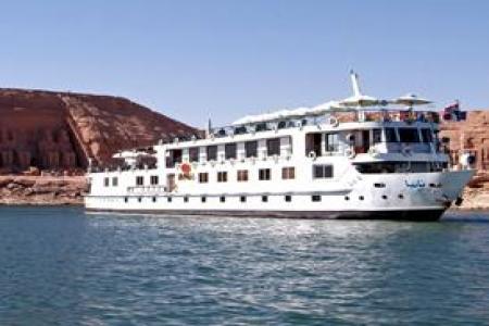 Crucero con motor Tania 5 Stars Lago Nasser Barco Crucero