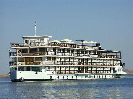 Crucero con motor Eugenie 5 Stars Lago Nasser Barco Crucero