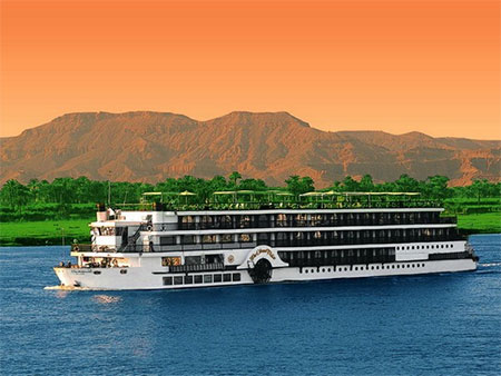 Oberoi Philae 5 stars Nile Cruise ship