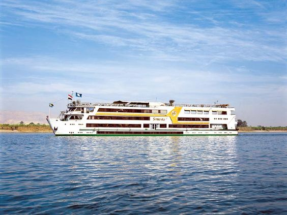 The Dahabiyyat 5 Stars Luxury Nile Cruise ship