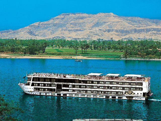 MS 5 Stars Dahabiya Albatros Nile Cruise ship